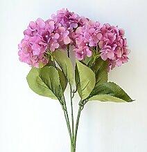 Kunstblumen YitingSeide Hochzeit Dekoration, Powder