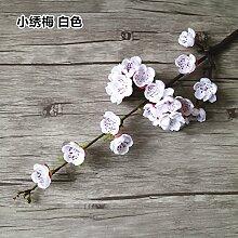 Kunstblumen Yiting Wohnzimmer Dekoration mit einfacher Höhe von zu Hause 56 cm, weiss