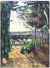 Kunstdruck Auf Leinwand,Französisch Künstler