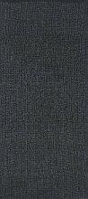 Kunstfaser Outdoor Teppich für Haus und Garten, waschbar. Design: HORREDSMATTAN PLAIN schwarz 150 x 100 cm