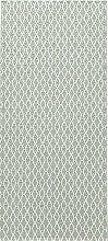 Kunstfaser-Teppich EYE grün - geeignet für Küche, Bad, Esszimmer, Garten, Terrasse, Camping..., Die Grösse/n:70 x 100 cm