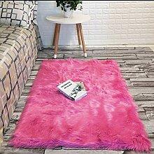 Kunstfell-Teppich Schaffell-Teppich Fell-Teppich