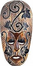 Kunsthandwerk Asien Maske Amar, wahlweise 25 cm