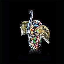 Kunsthandwerk Murano Elefant aus Muranoglas, Glas,