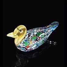 Kunsthandwerk Murano Papera aus Muranoglas, Glas,