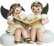 Kunsthandwerkstube Hubrig-Volkskunst Engelpaar *
