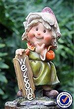 Kunstharz handgefertigt Cute Gnome, Garten Dekoration & Ideen