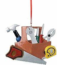 Kunstharz Heimwerker Werkzeugkoffer Ornamen