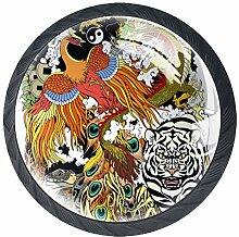 Kunstlegende Tier Drache Phoenix Tiger Bunte