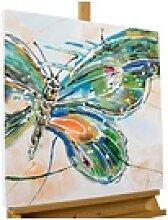 KUNSTLOFT Gemälde Schmetterling auf Reisen,