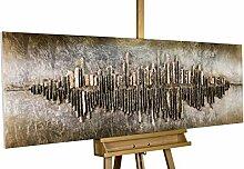 KunstLoft® Holzbild 'Frequency 1000'