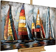 KunstLoft® Metallbild 'Sailing to