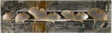 KUNSTLOFT Metallbild Herbstboten, handgefertigte