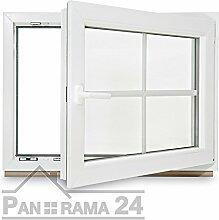 Kunstoff Sprossenfenster Kellerfenster Fenster