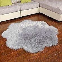 Kunstpelz Teppich Teppiche für Wohnzimmer