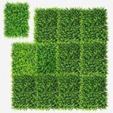 Kunstpflanze 12Stk. Künstliches Pflanzenwand,