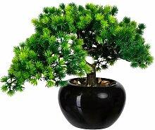 Kunstpflanze Bonsai im Topf Die Saisontruhe