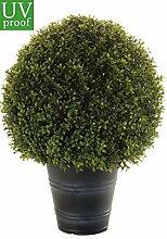 Kunstpflanze Buchsbaumkugel d50cm im Topf UV