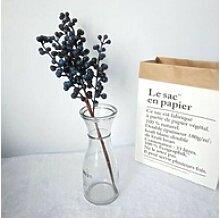 Kunstpflanze Künstliche Pflanze Schaum Beere 47cm