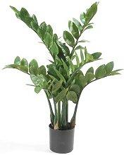 Kunstpflanze, künstliche Zamioculcas Topfpflanze Zimmerpflanze H. 70cm Emerald (33,50 EUR / Stück)