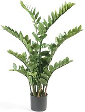 Kunstpflanze, künstliche Zamioculcas Topfpflanze Zimmerpflanze H. 110cm Emerald (69,95 EUR / Stück)