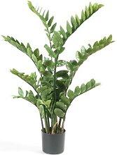 Kunstpflanze, künstliche Zamioculcas Topfpflanze