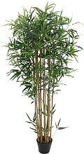 Kunstpflanze Künstlicher Bambus BISSETI - Höhe:
