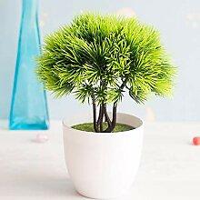 Kunstpflanze Künstlicher Bonsai-Baum Kiefer
