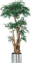 Kunstpflanze Tropischer Ruscus, grün