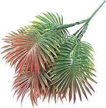 Kunstpflanzen 35cm 5 Gabeln Tropische Palme