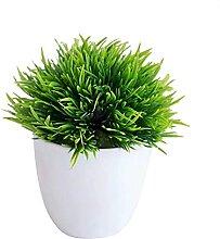 Kunstpflanzen 4 Stücke Künstliche Pflanze Bonsai