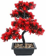 kunstpflanzen im Topf,Bonsai Baum,künstliche