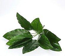 Kunstpflanzen Künstliche Bananenblätter Grüne