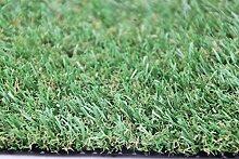 Kunstrasen Paradiso, Rasenteppich mit natürlichem Effekt, sehr robust für den Außen- & Innenbereich, Größe:200 x 350 cm