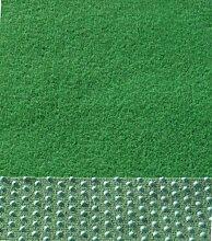 Kunstrasen-Rasenteppich 1m Breite Farbe grün (700 x 100 cm)
