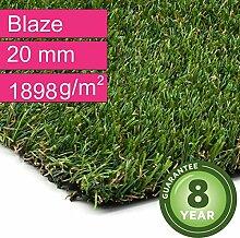 Kunstrasen Rasenteppich Blaze für Garten -