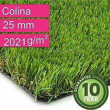 Kunstrasen Rasenteppich Colina für Garten -