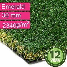 Kunstrasen Rasenteppich Emerald für Garten -