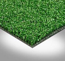 Kunstrasen Rasenteppich Fertigrasen mit Noppen 7mm grün 200 und 400 cm breit, verschiedene Längen, Variante: 7 x 2 m