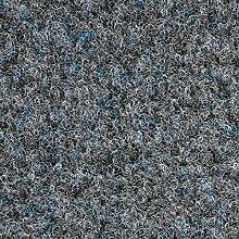 Kunstrasen Rasenteppich Fertigrasen Nadelfilz mit Noppen 6,5mm grau 200 und 400 cm breit, verschiedene Längen, Variante: 8 x 2 m