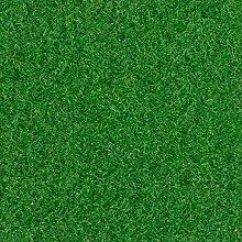 Kunstrasen Rasenteppich Fertigrasen Nadelfilz mit Noppen 6,5mm grün 200 und 400 cm breit, verschiedene Längen, Variante: 6 x 2 m