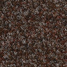Kunstrasen Rasenteppich mit Noppen | 133, 200, und 400 cm Breite | verschiedene Größen | Höhe ca. 7,5mm | braun rot | Größe: 4 x 2 m