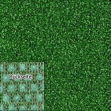 Kunstrasen Rasenteppich Tuft Exclusiv 10mm grün