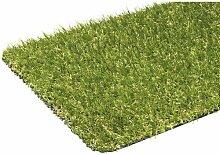 Kunstrasen-Teppich Loco grün High Quality 133x200x18 cm - naturechtes Aussehen -für Innen und Außen