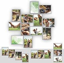 Kunststoff Bilderrahmen Fotorahmen Collage zum