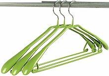 Kunststoff Edelstahl Anti-Rutsch Haushalt Racks/ Hotel Kleiderbügel/ Trockengestelle für Kleidung zu speichern-E