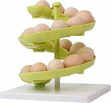 Kunststoff Eier Aufbewahrungsregal Drehregal Vorratdosen für Küche