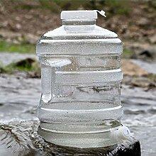 Kunststoff-Eimer Auto-Camping-Runde Wassertank PC