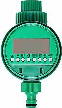 Kunststoff elektronischer Garten-Wasser-Timer-Magnetventil Bewässerung-Sprenger Steuer