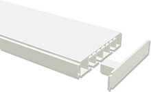 Kunststoff Gardinenschiene / PVC Vorhangschiene